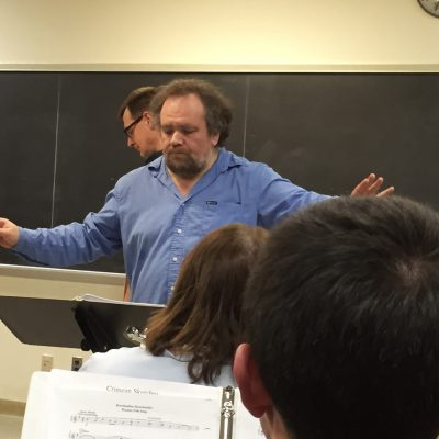 Gorodinsky conducting the RFO
