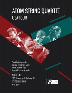 Atom String Quartet poster